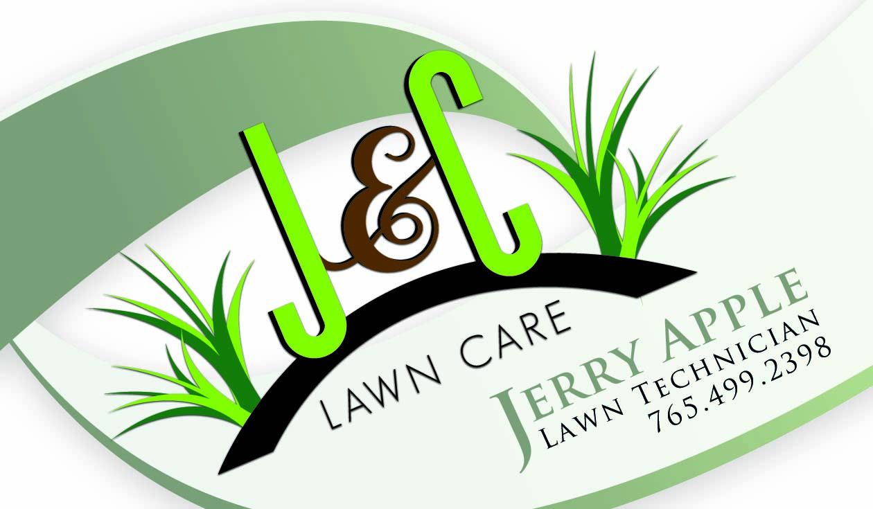 J C Lawn Care Business Card Brittany Huey